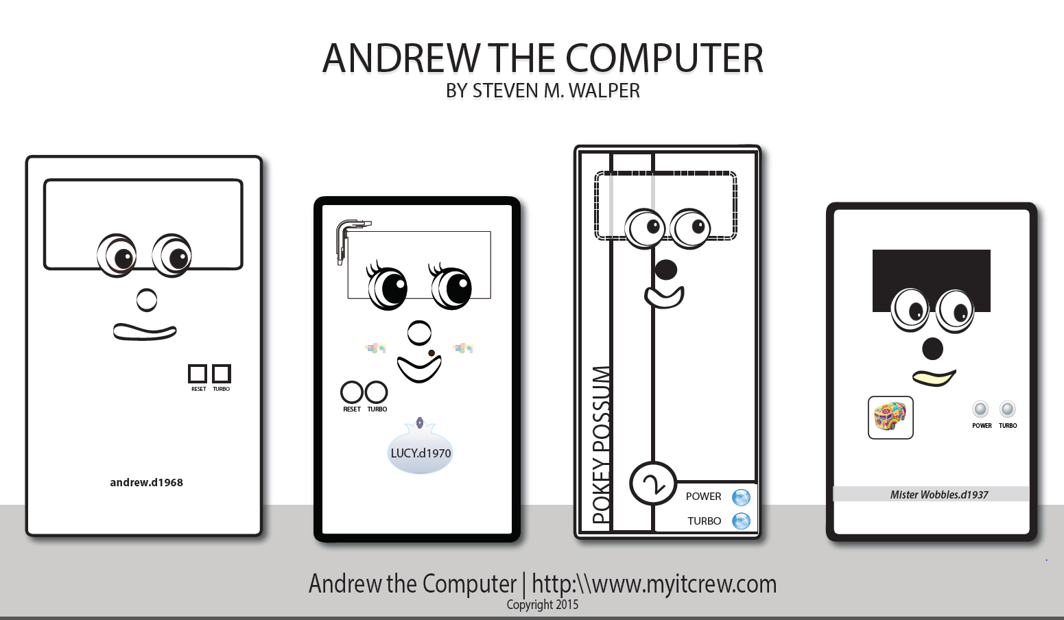 andrew the computer 2015 B&W